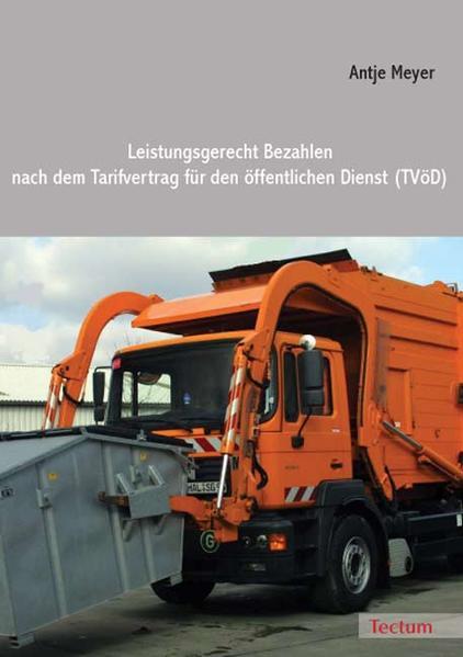 Leistungsgerecht Bezahlen nach dem Tarifvertrag für den öffentlichen Dienst (TVöD) - Coverbild