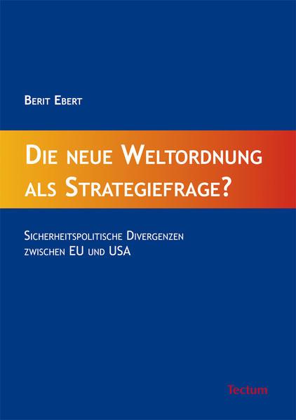 Die neue Weltordnung als Strategiefrage? - Coverbild