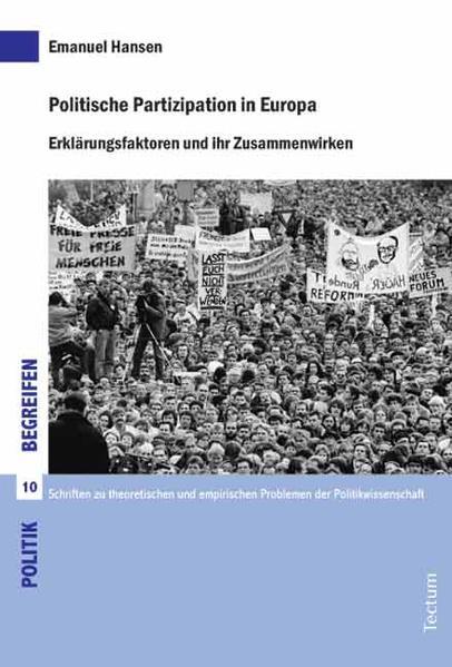 Politische Partizipation in Europa - Coverbild