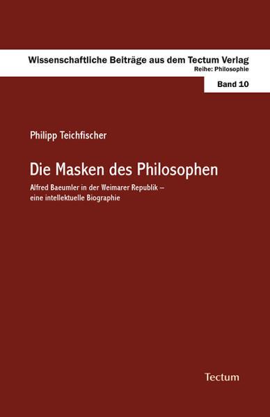 Die Masken des Philosophen - Coverbild