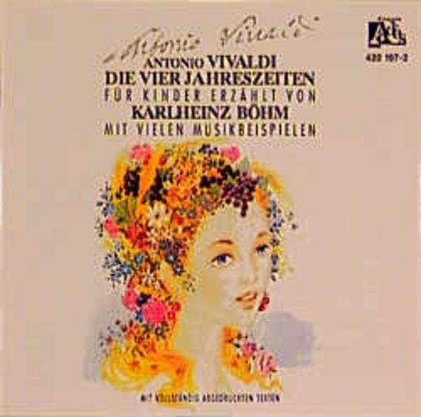 Antonio Vivaldi - Die vier Jahreszeiten - Coverbild