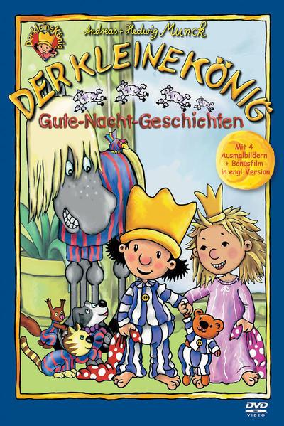 Der kleine König - DVD / Gute-Nacht-Geschichten - Coverbild