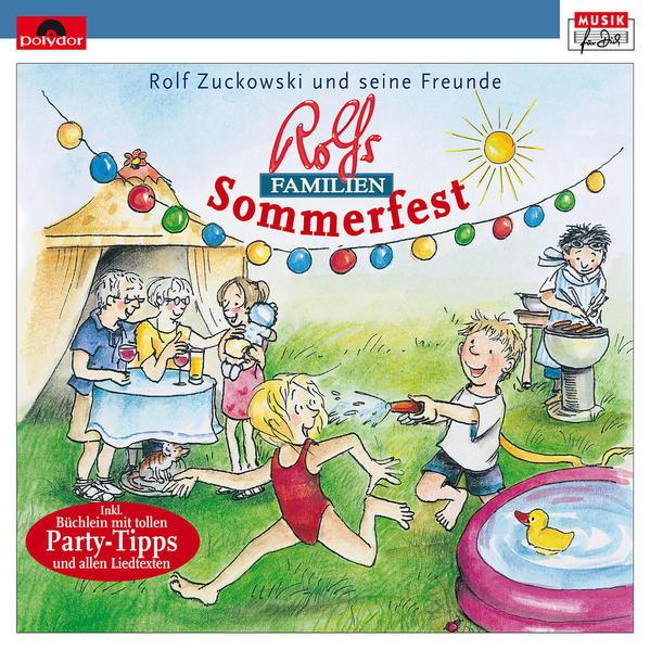 Rolf Zuckowski: Rolfs Familien-Sommerfest - Coverbild