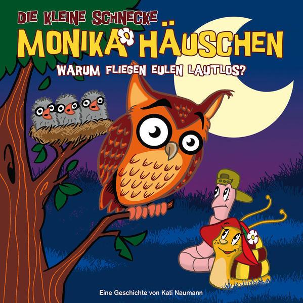 Die kleine Schnecke Monika Häuschen - CD / 19: Warum fliegen Eulen lautlos? - Coverbild