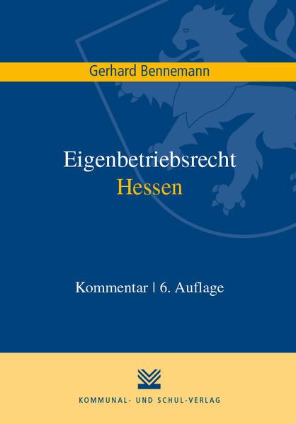 Eigenbetriebsrecht Hessen - Coverbild