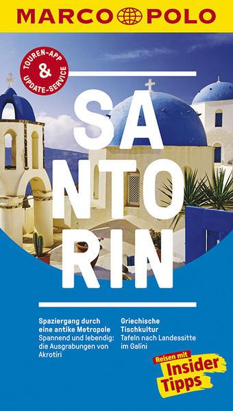MARCO POLO Reiseführer Santorin - Coverbild