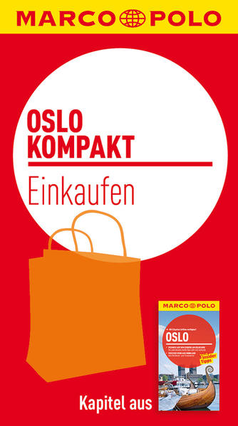 Kostenlose PDF MARCO POLO kompakt Reiseführer Oslo - Einkaufen