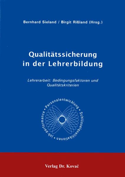 Qualitätssicherung in der Lehrerbildung - Coverbild