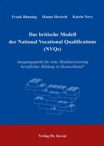 Das britische Modell der National Vocational Qualifications (NVQs) - Coverbild