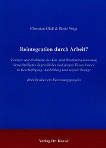 Reintegration durch Arbeit? - Coverbild
