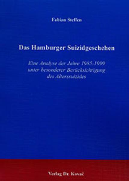Das Hamburger Suizidgeschehen - Coverbild