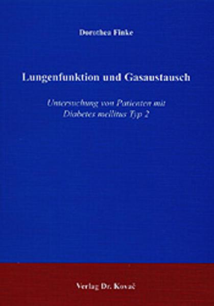 Lungenfunktion und Gasaustausch - Coverbild