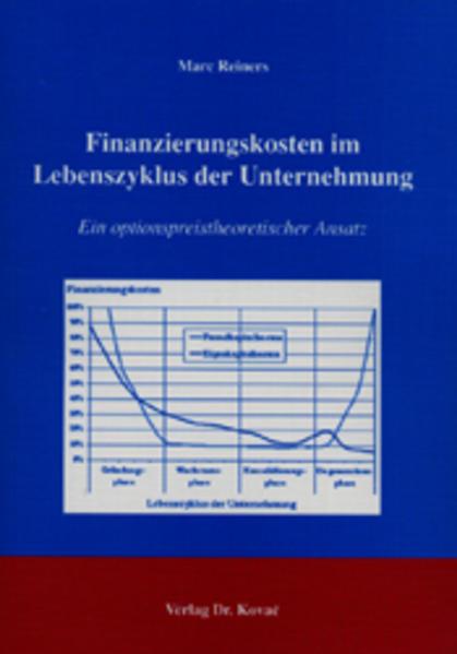Finanzierungskosten im Lebenszyklus der Unternehmung - Coverbild