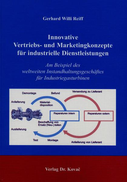 Innovative Vertriebs- und Marketingkonzepte für industrielle Dienstleistungen - Coverbild