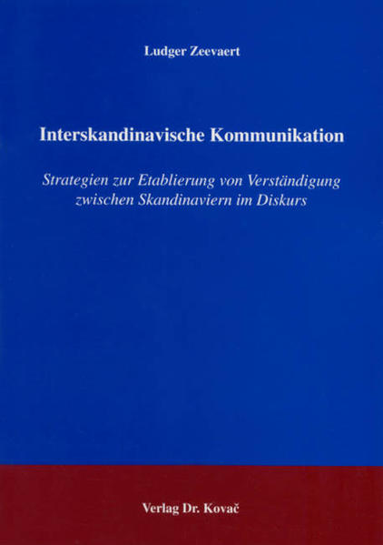 Interskandinavische Kommunikation - Coverbild