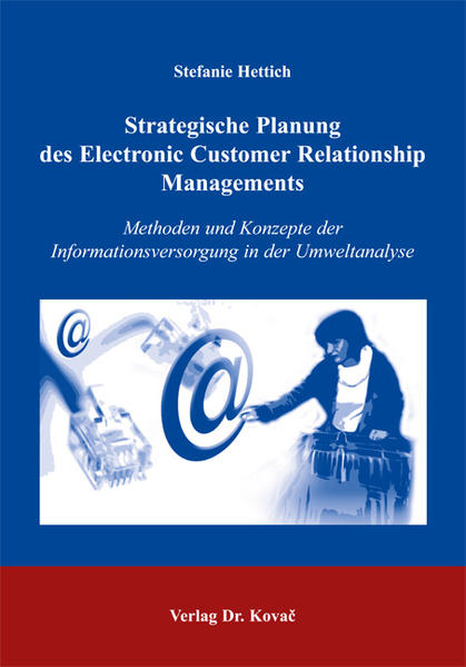 Strategische Planung des Electronic Customer Relationship Managements - Coverbild