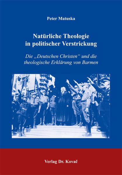 Natürliche Theologie in politischer Verstrickung - Coverbild