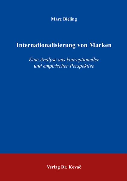 Internationalisierung von Marken - Coverbild