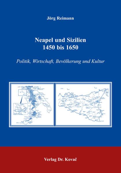 Neapel und Sizilien 1450 bis 1650 - Coverbild