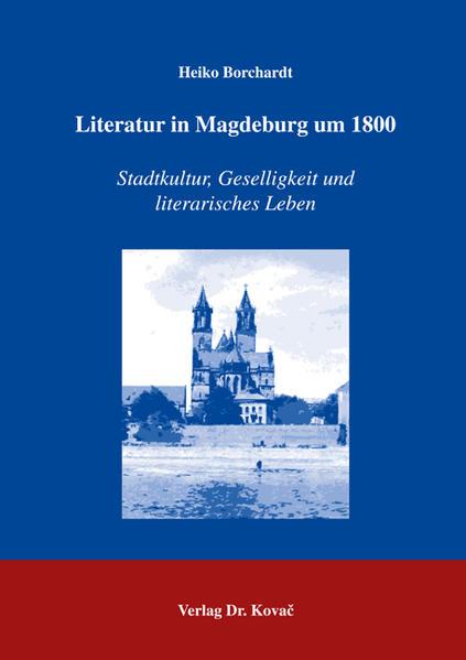 Literatur in Magdeburg um 1800 - Coverbild