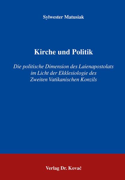 Kirche und Politik - Coverbild