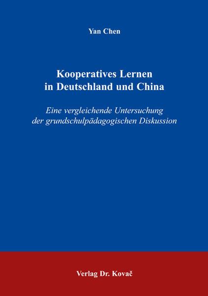 Kooperatives Lernen in Deutschland und China - Coverbild