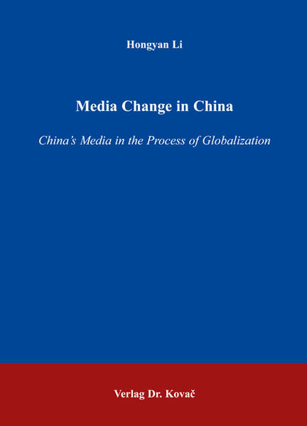 Media Change in China - Coverbild