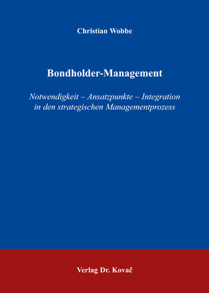 Bondholder-Management - Coverbild