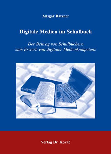 Digitale Medien im Schulbuch - Coverbild