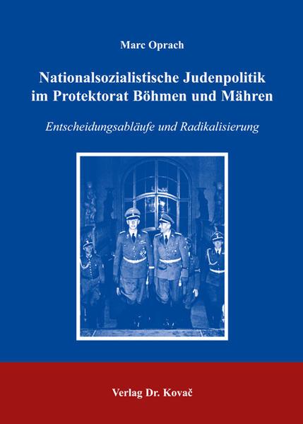 Nationalsozialistische Judenpolitik im Protektorat Böhmen und Mähren - Coverbild