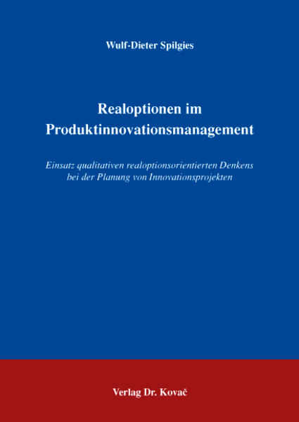 Realoptionen im Produktinnovationsmanagement - Coverbild