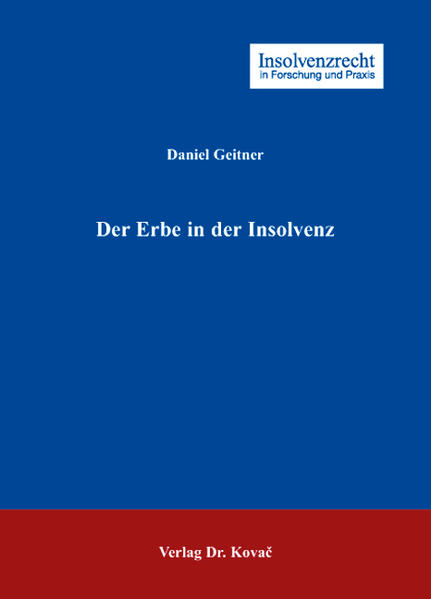 Der Erbe in der Insolvenz - Coverbild