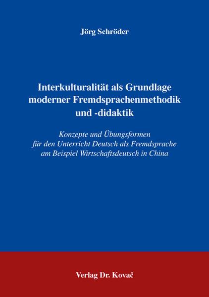 Interkulturalität als Grundlage moderner Fremdsprachenmethodik und -didaktik - Coverbild