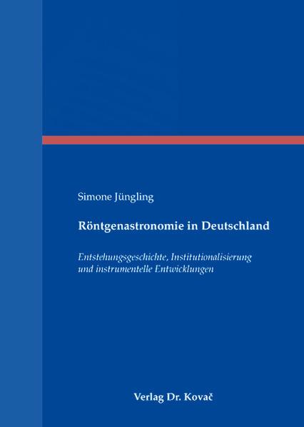 Röntgenastronomie in Deutschland - Coverbild