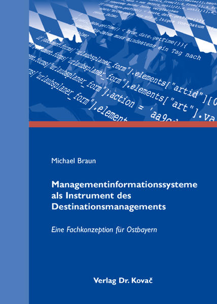 Managementinformationssysteme als Instrument des Destinationsmanagements - Coverbild