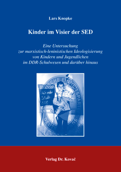 Kinder im Visier der SED - Coverbild