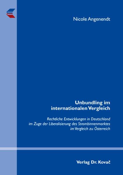 Unbundling im internationalen Vergleich - Coverbild
