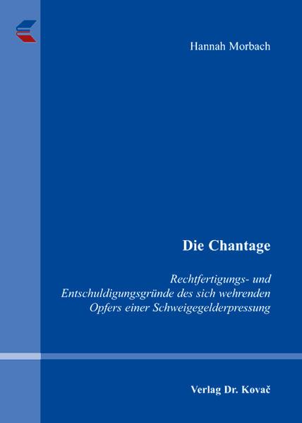 Die Chantage - Coverbild