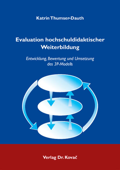 Evaluation hochschuldidaktischer Weiterbildung - Coverbild