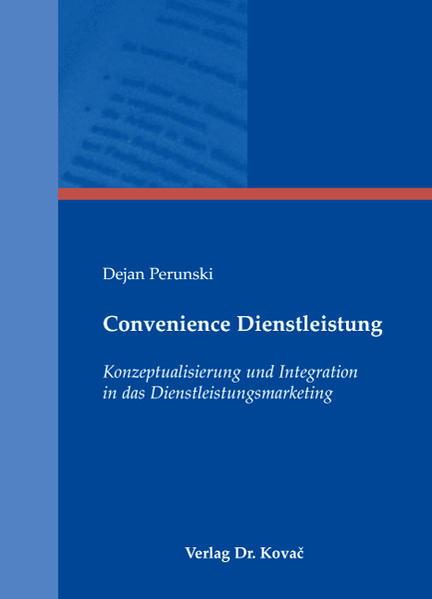 Convenience Dienstleistung - Coverbild