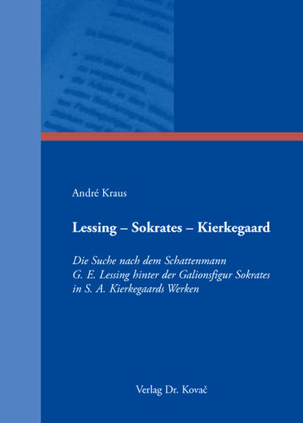 Lessing - Sokrates - Kierkegaard - Coverbild