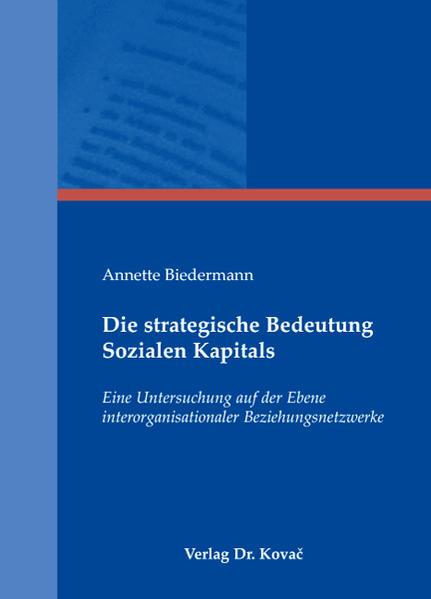 Buch Die strategische Bedeutung Sozialen Kapitals Download von AudioBooks, Kostenlose AudioBooks