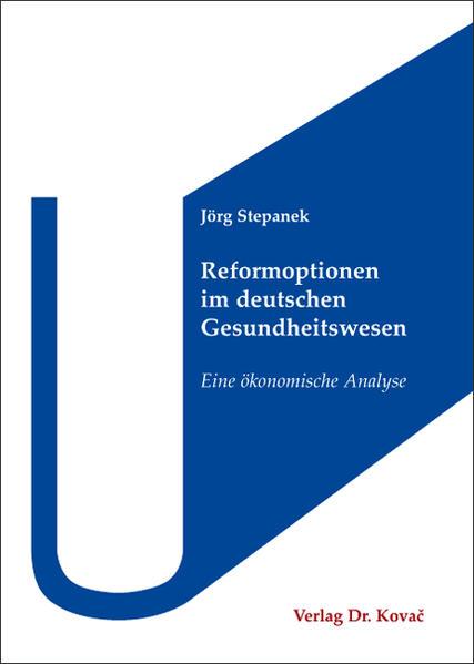 Reformoptionen im deutschen Gesundheitswesen - Coverbild