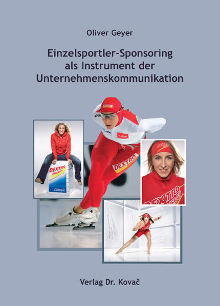 Einzelsportler-Sponsoring als Instrument der Unternehmenskommunikation - Coverbild