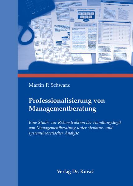 Professionalisierung von Managementberatung - Coverbild