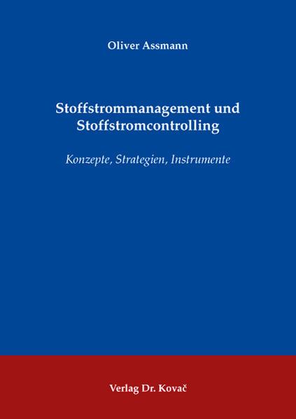 Stoffstrommanagement und Stoffstromcontrolling - Coverbild