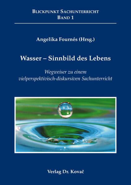 Wasser - Sinnbild des Lebens - Coverbild