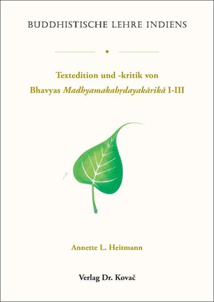 Buddhistische Lehre Indiens - Coverbild