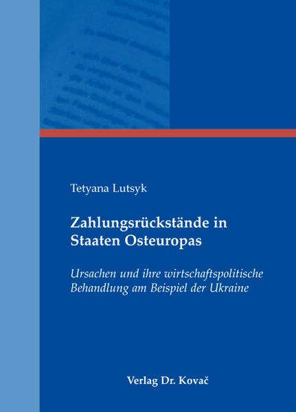 Zahlungsrückstände in Staaten Osteuropas - Coverbild