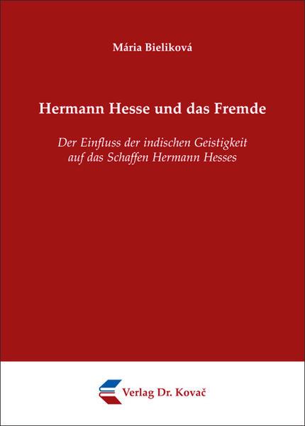 Hermann Hesse und das Fremde - Coverbild